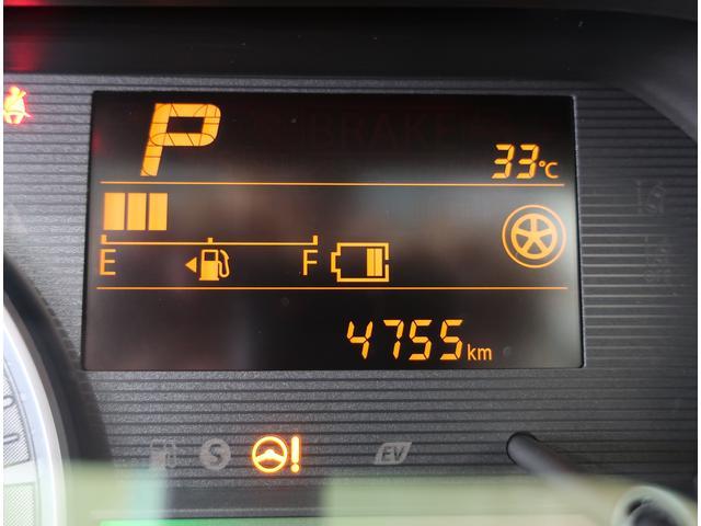 走行距離は4755kmです!