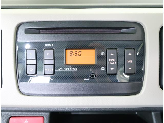 AM / FM ラジオ付 CD再生 純正オーディオ装備★ ドライブもノリノリでいかがでしょうか♪