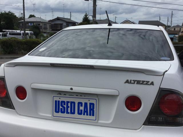 トヨタ アルテッツァ AS200 WiseセレクションIIIナビパック