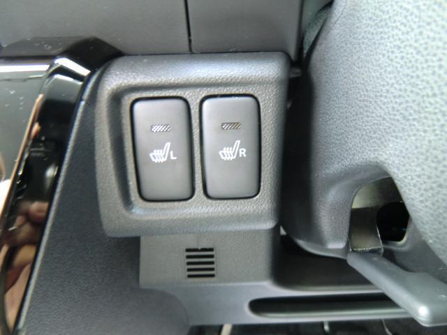 運転席、助手席両方にシートヒーターが付いています。
