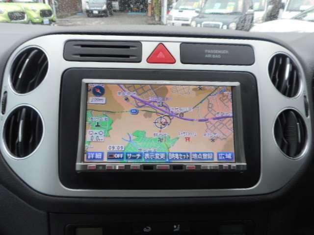 HDDナビゲーションも装備済。快適なドライブをサポートしてくれます。