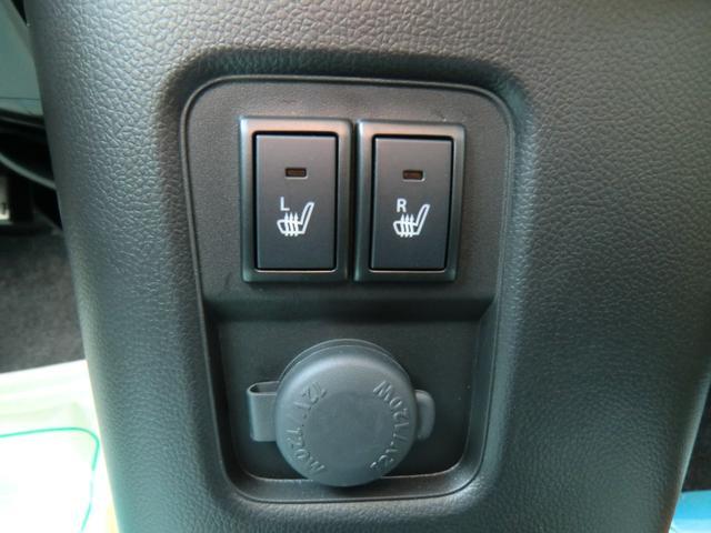 運転席と助手席にはシートヒーターが付いているので、寒い日に重宝します!