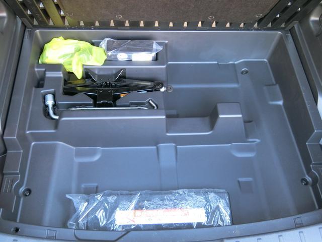 トランク下収納/パンク修理キット