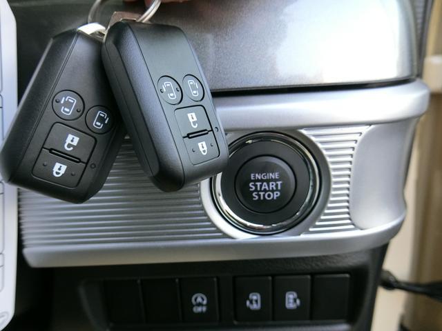 ハイブリッドXZ 届出済未使用車/マイナーチェンジ後/デュアルカメラブレーキ/前後衝突軽減ブレーキ/前後踏間違防止/両側電動スライドドア/スマートキー/プッシュスタート/ルーフレール/USB充電/2トン色(36枚目)