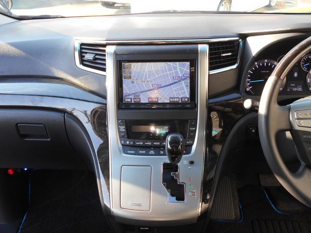 トヨタ ヴェルファイア 2.4Z Gエディション純正HDDツインモニターツインルーフ
