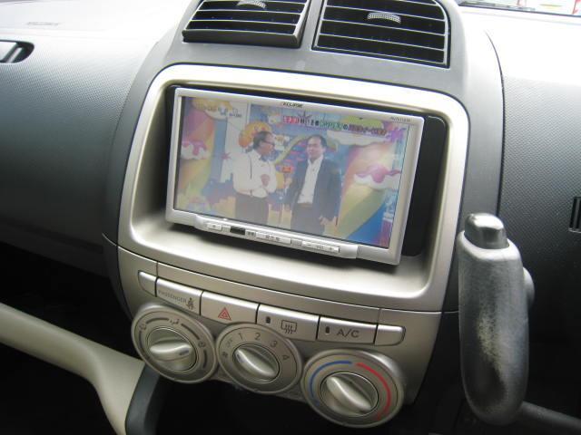 トヨタ パッソ X メモリーナビ ワンセグTV キーレス
