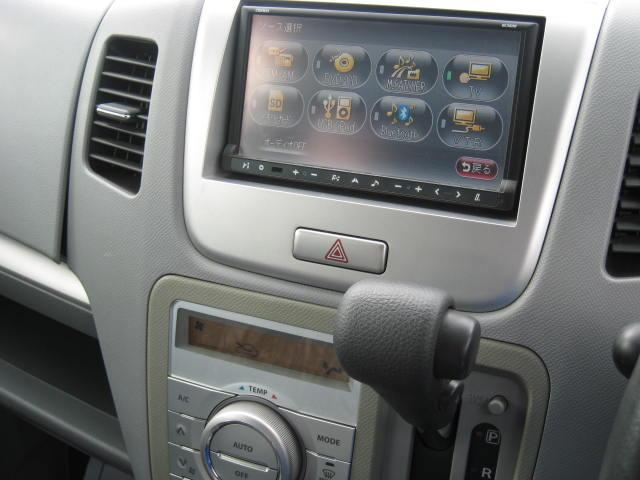 スズキ ワゴンR FXリミテッド ナビ フルセグTV 1オーナー