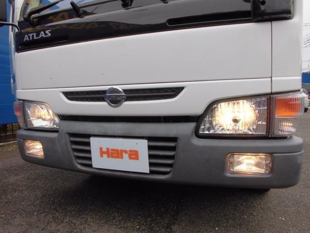 日産 アトラストラック ロング 1.5t 10尺 低床 5速MT リアダブルタイヤ