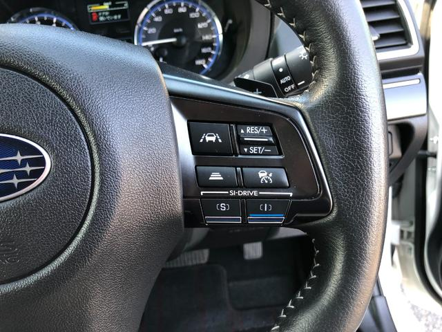 1.6GTアイサイト アドバンスドセイフティパッケージ 純正SDナビ フルセグ BTオーディオ サイド&バックカメラ 全車速追従クルコン ETC オートワイパー オートライト LEDヘッドライト オートハイビーム 禁煙車(17枚目)