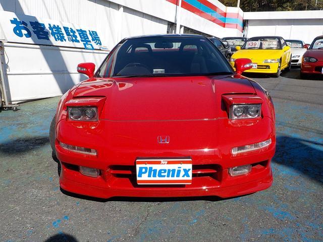 ホンダ NSX ベースグレード K&Nエアロ チタンテールマフラー レカロ