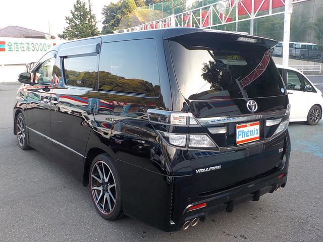 トヨタ ヴェルファイア 2.4Z G's 8インチツインナビWサンルーフ両側電動ドア