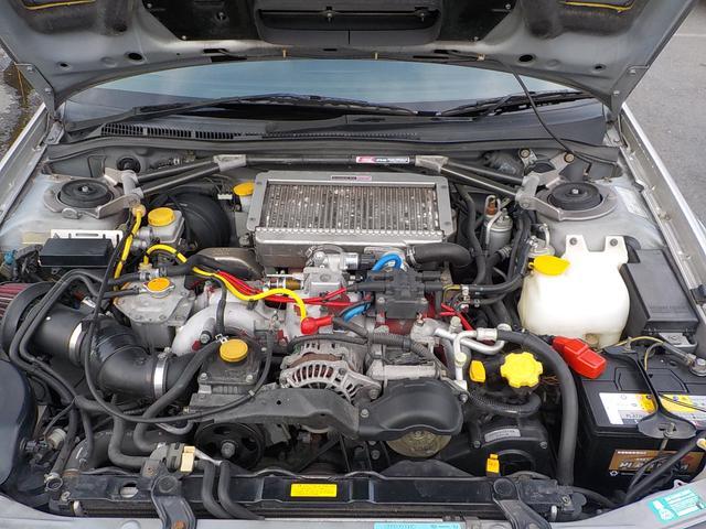 スバル インプレッサ WRX STiバージョンV 後期型 TE37軽量AW