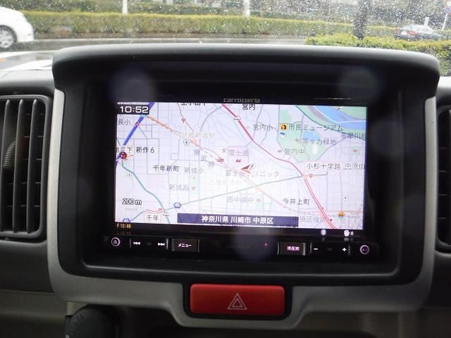 日産 NV100クリッパーリオ G専用SD地デジBカメラ後席モニター両側自動Dハイルーフ