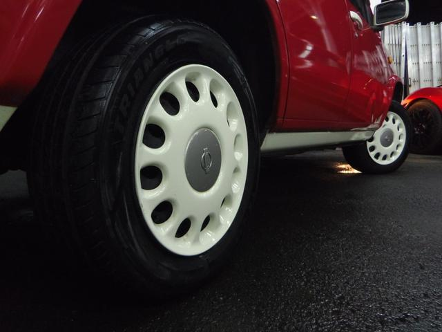 タイプL専用4WD赤革調Sカバーインテリア背面タイヤ(7枚目)