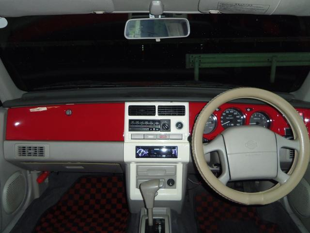 タイプL専用4WD赤革調Sカバーインテリア背面タイヤ(8枚目)