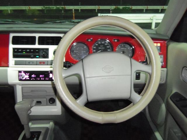 タイプL専用4WD赤革調Sカバーインテリア背面タイヤ(9枚目)
