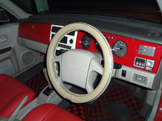 タイプL専用4WD赤革調Sカバーインテリア背面タイヤ(10枚目)