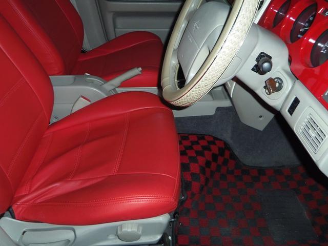 タイプL専用4WD赤革調Sカバーインテリア背面タイヤ(12枚目)