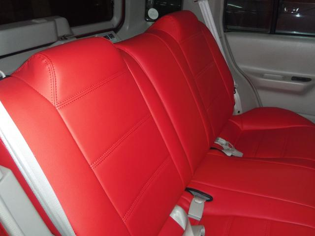 タイプL専用4WD赤革調Sカバーインテリア背面タイヤ(13枚目)