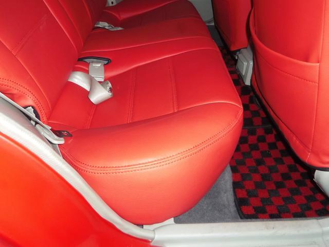 タイプL専用4WD赤革調Sカバーインテリア背面タイヤ(14枚目)