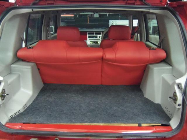 タイプL専用4WD赤革調Sカバーインテリア背面タイヤ(15枚目)