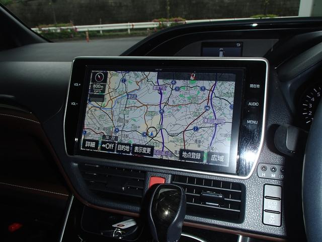 Gi後期10インチSDフルセグ後席モニター黒革S両側自動ドア(20枚目)