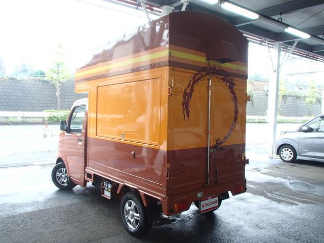KCキッチンカー移動販売車SDナビAC100Vインバーター(5枚目)