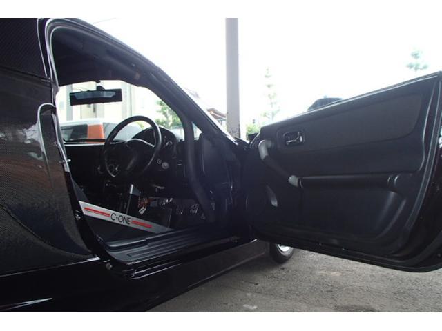 Sエディション DATA-SYTEMエアロ!トライアルカーボンハードトップ!VARISボンネット!TRDメタルキャタライザー!社外エキマニ&チャンバー!ドアミラーTEIN車高調!C-ONEロールバー&前後タワーバー(32枚目)