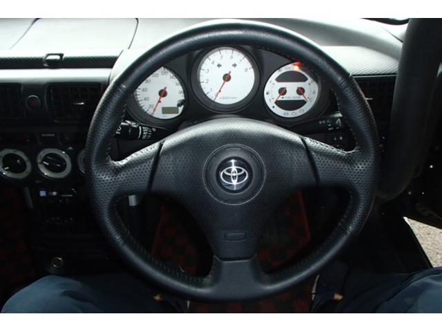 Sエディション DATA-SYTEMエアロ!トライアルカーボンハードトップ!VARISボンネット!TRDメタルキャタライザー!社外エキマニ&チャンバー!ドアミラーTEIN車高調!C-ONEロールバー&前後タワーバー(37枚目)