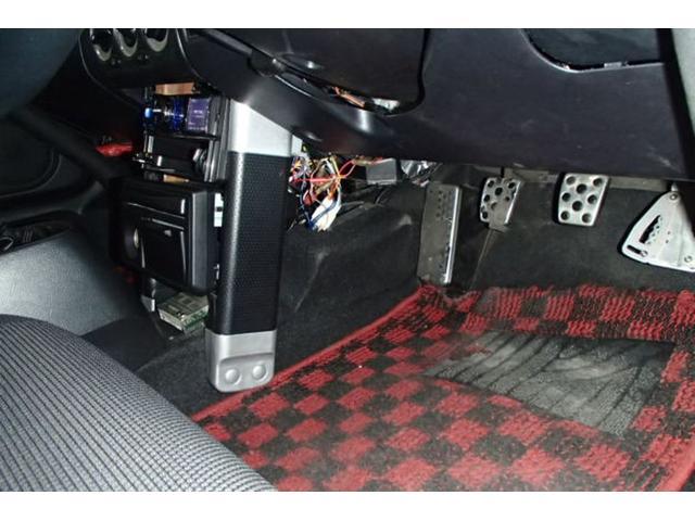 Sエディション DATA-SYTEMエアロ!トライアルカーボンハードトップ!VARISボンネット!TRDメタルキャタライザー!社外エキマニ&チャンバー!ドアミラーTEIN車高調!C-ONEロールバー&前後タワーバー(60枚目)