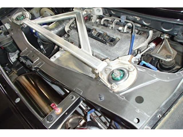Sエディション DATA-SYTEMエアロ!トライアルカーボンハードトップ!VARISボンネット!TRDメタルキャタライザー!社外エキマニ&チャンバー!ドアミラーTEIN車高調!C-ONEロールバー&前後タワーバー(63枚目)