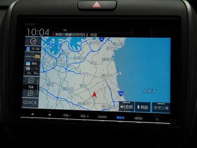 ギャザズスタンダードインターナビVXM185VFNi メモリーナビゲーション搭載です CD録音 DVD再生 Bluetooth接続 ワイドFM対応 フルセグチューナー付きです