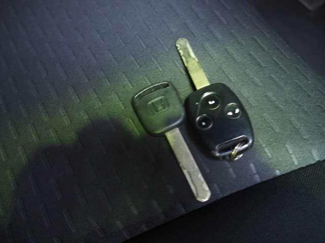 キーはリモコンキーを含めて標準セットで揃っています