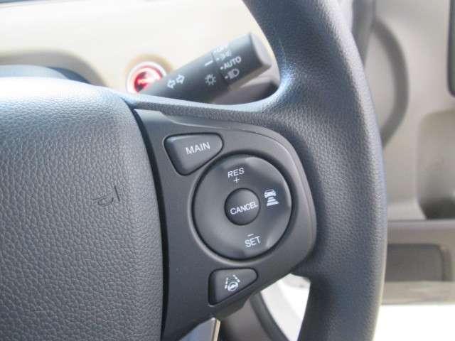 ホンダセンシング搭載車、安全運転を大きく支援するシステムです。