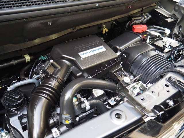 4人乗車時に坂道でも快適なS07B型 DOHC3気筒ターボi-VTECエンジン搭載です