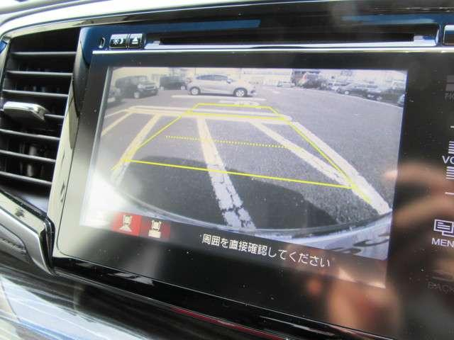 アブソルート 純正メモリーナビ フルセグTV バックカメラ 衝突軽減ブレーキ サイドエアバック LEDライト フォグライト ETC ドアバイザー VSA(横滑り防止機能) オッドマンシート(7枚目)