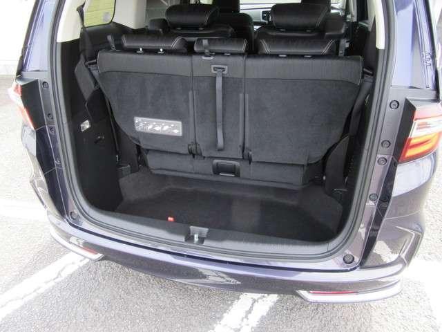 アブソルート 純正メモリーナビ フルセグTV バックカメラ 衝突軽減ブレーキ サイドエアバック LEDライト フォグライト ETC ドアバイザー VSA(横滑り防止機能) オッドマンシート(15枚目)