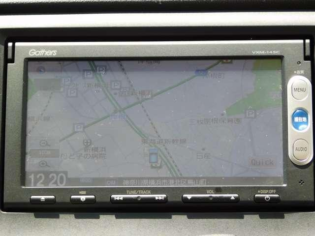 ナビはメモリーナビVXM-145Cとなります。