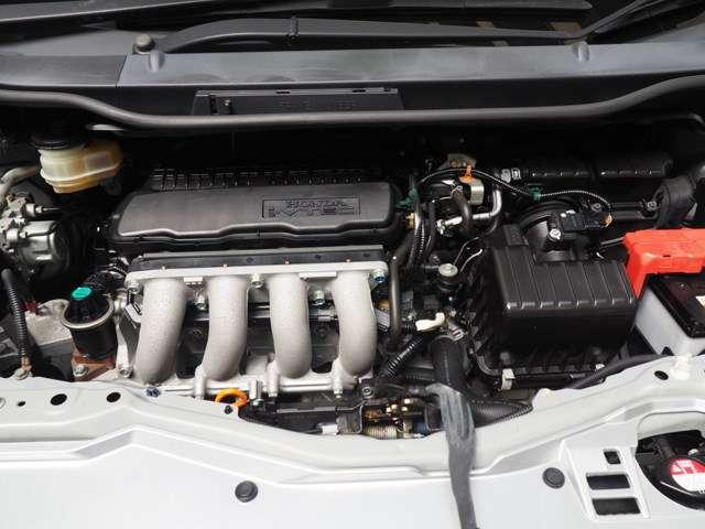 L13A型 1.3L 直列4気筒SOHC i-VTECエンジン搭載です
