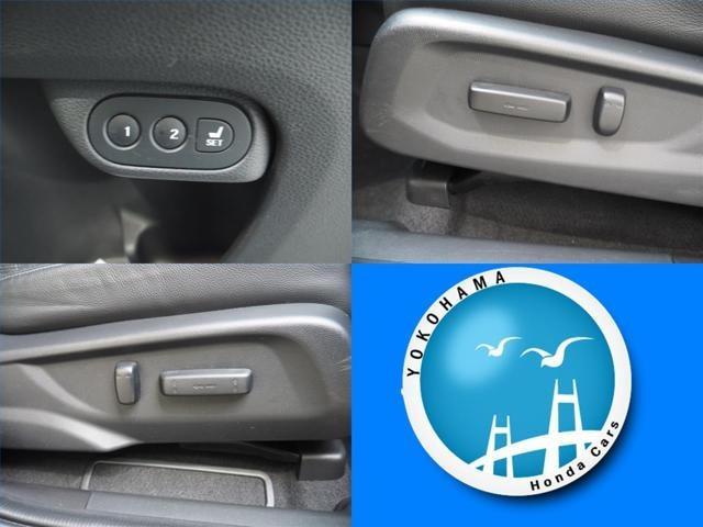 シートの位置や角度を 電動で細かく調整可能  簡単操作でベストポジションを 運転席はメモリー機能付パワーシートです