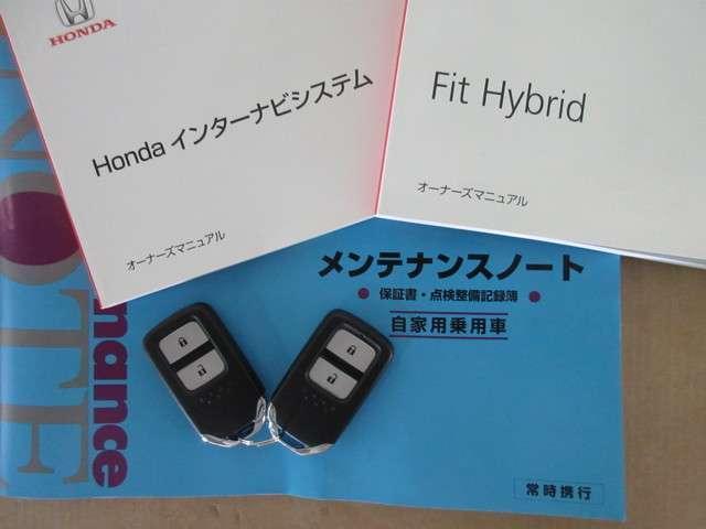 ホンダ フィットハイブリッド Lパッケージ 純正メモリーナビRカメラ ETC