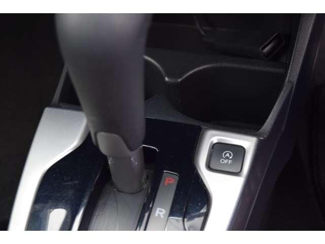 アイドリングストップは停車時に自動でエンジンをストップし、ムダな燃料消費と排出ガスをなくします。