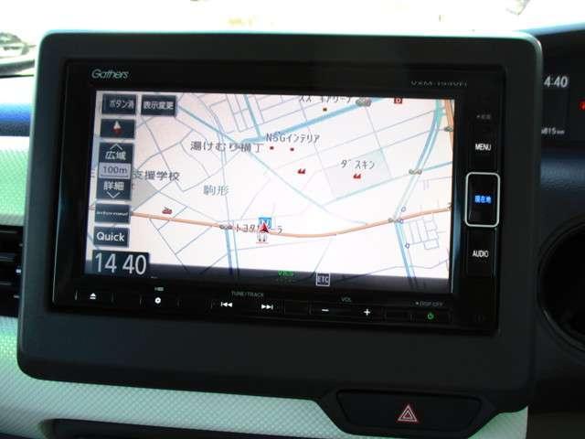 G・EXターボホンダセンシング 試乗車UP 禁煙車 純正メモリーナビ Bluetooth 音楽録音機能 フルセグ Rカメラ ETC 両側電動スライドドア LEDヘッドライト リヤ席シートスライド サイドカーテンエアバック(6枚目)