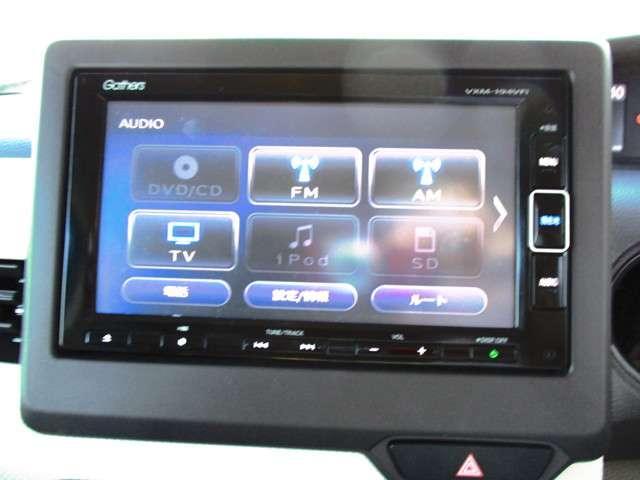 G・EXターボホンダセンシング 試乗車UP 禁煙車 純正メモリーナビ Bluetooth 音楽録音機能 フルセグ Rカメラ ETC 両側電動スライドドア LEDヘッドライト リヤ席シートスライド サイドカーテンエアバック(7枚目)