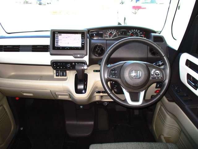 G・EXターボホンダセンシング 試乗車UP 禁煙車 純正メモリーナビ Bluetooth 音楽録音機能 フルセグ Rカメラ ETC 両側電動スライドドア LEDヘッドライト リヤ席シートスライド サイドカーテンエアバック(9枚目)