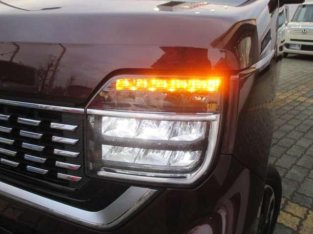 夜間走行も安心のLEDヘッドライト!明るいです!