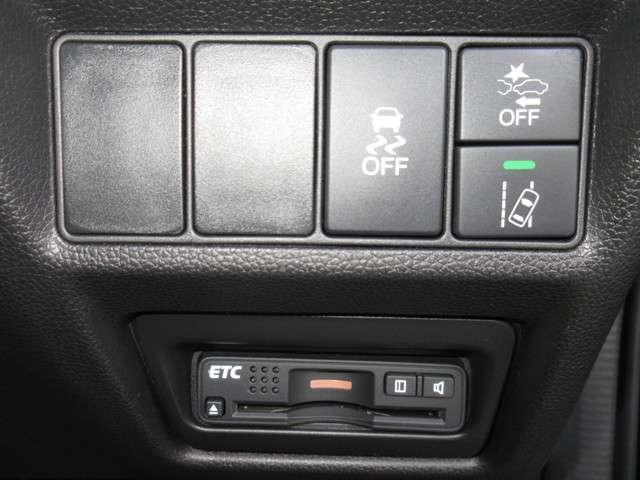より一層、大きな安心が感じられるシステムを・・・HONDA SENSING (ホンダ センシング)、VSA(車両挙動安定化制御システム)、 ETC が付いており、エコで安全に走行出来ます!