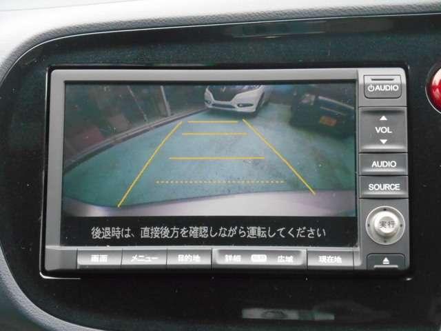 ホンダ インサイト L 純正HDDナビ リアカメラ