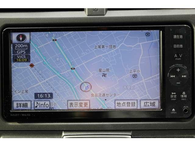 トヨタ ラクティス 1.3 X スマートストップ セレクション 純ナビ フルセグ バ