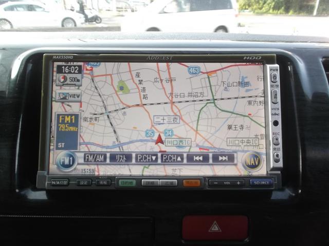 トヨタ ハイエースバン ロングスーパーGL3.0DTHDDフルセグBカメラカスタム